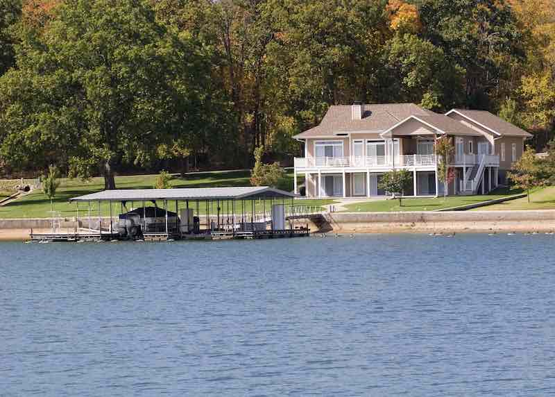 Lake properties are growing in value over time